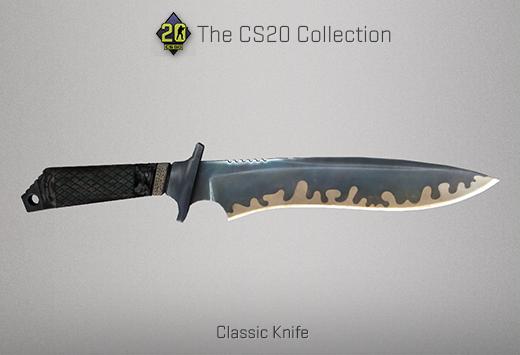 classic knife 1.6 cs go cs20