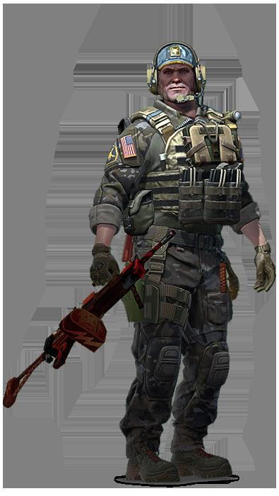 Lt. Commander Ricksaw