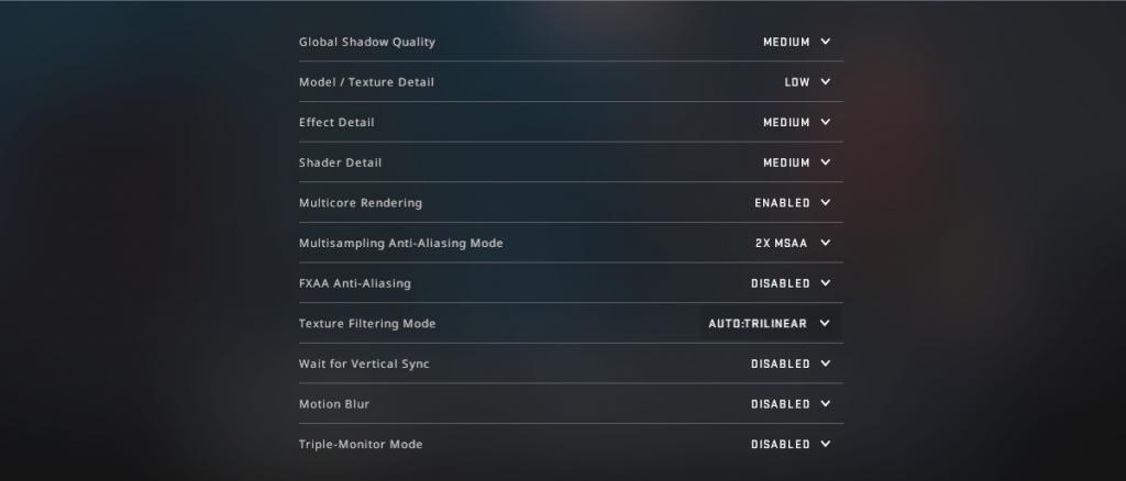 csgo advanced video settings 2020 fps guide