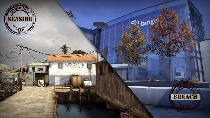 Breach CSGO Map Finished