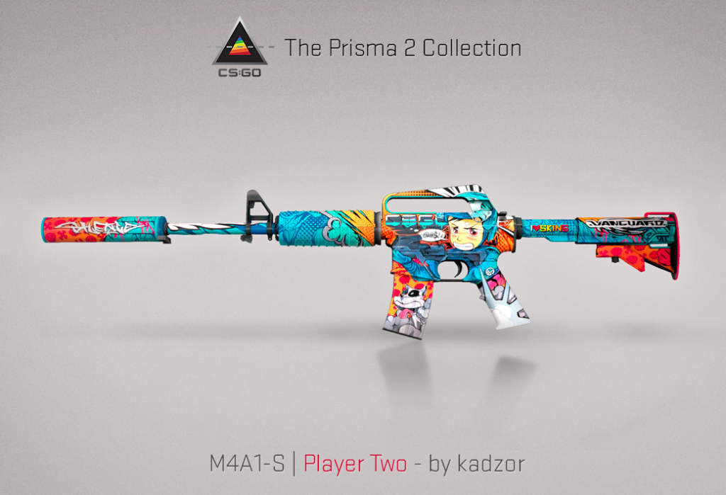 prisma 2 case m4a1-s player two update